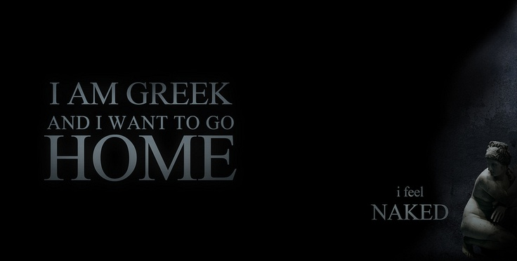 I AM GREEK AND I WANNA GO HOME independent movement for repatriation of the Greek Sculptures Photography, Concept and Artwork by Ares Kalogeropoulos