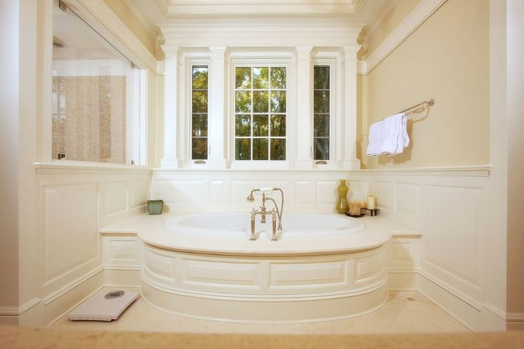 Our Recommendations For Traditional Bathrooms: 124 Best Images About All-White Baths On Pinterest
