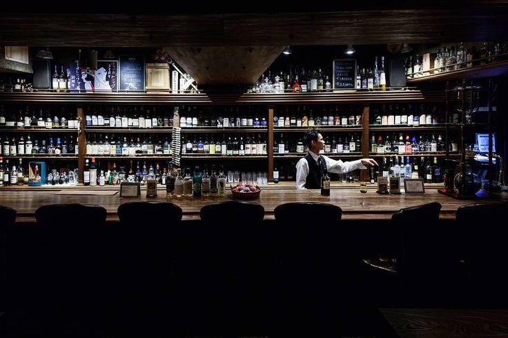 Wanderlust for some cool bars around the world.  Wodka Tonic bar. Nishi-Azabu, Tokyo