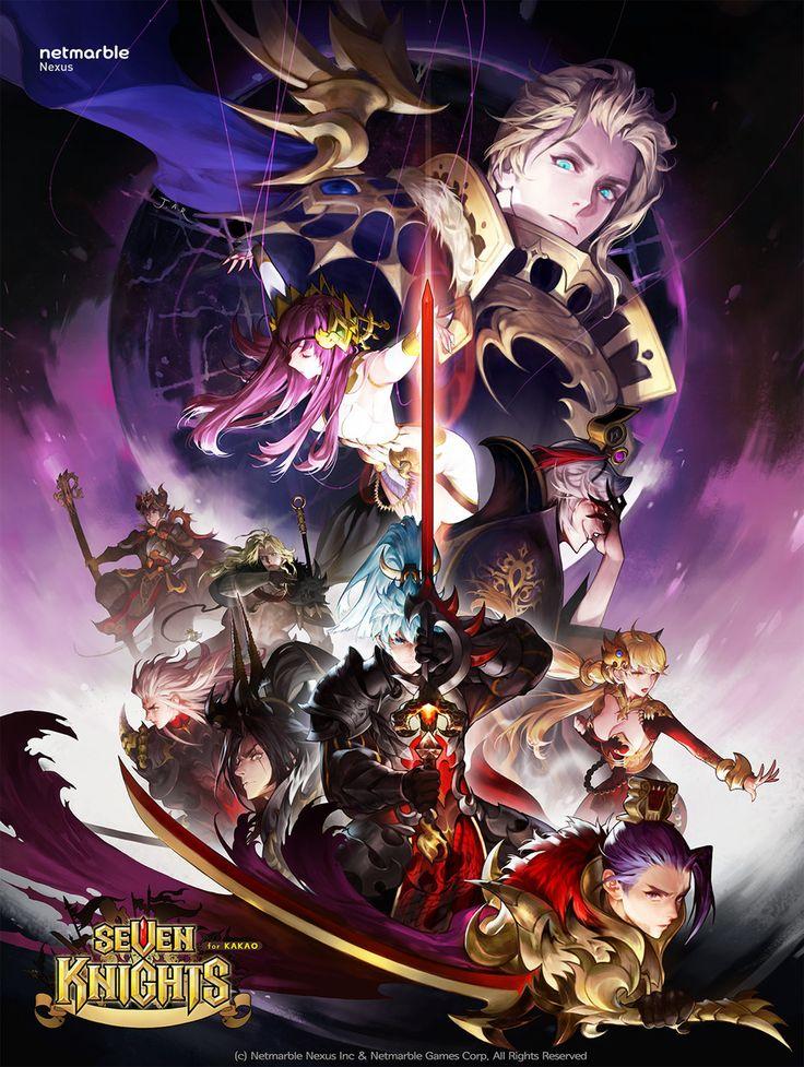 ArtStation - Seven knights poster, areum Jeong