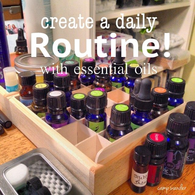 How to Create a Daily Routine with Essential Oils