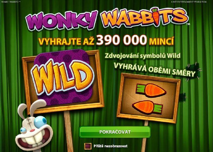 Zahryznite sa do hry Wonky Wabbits plnej chutí počas víkendu a získajte až  roztočení zadarmo. http://www.hracie-automaty.com/novinky/200-roztoceni-zadarmo-na-hre-wonky-wabbits #doublestar #wonkywabbits #roztoceniazadarmo #vyhra