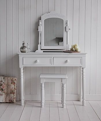 Order white bedroom dressing tables and bedroom furniture with quick  delivery from The White Lighthouse. 22 best White Dressing Table images on Pinterest   White dressing