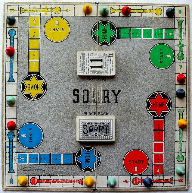 Image result for Sorry board game overview