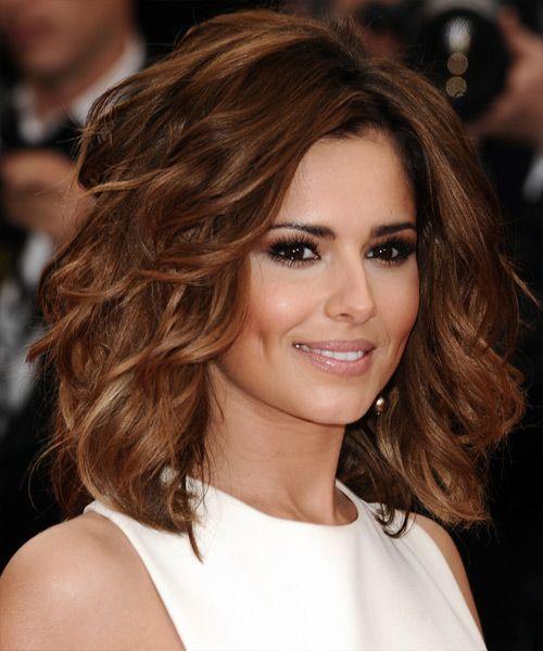 Cheryl Cole Wedding Hairstyle: Cheryl Cole Medium Wavy Formal Hairstyle