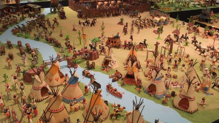 fort glory playmobil diorama