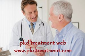 Patient: I have a cyst of 30mm inside of my left kidney but I feel no pain in there. What is your suggestion about my new life style, such as diet and treatment.