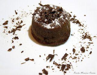 Recetas Monsieur Cuisine: Coulant de Chocolate