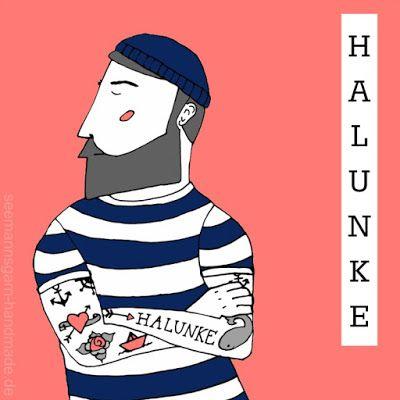 Schöne Wörter Illustrationen • Halunke – Seemannsgarn – handmade