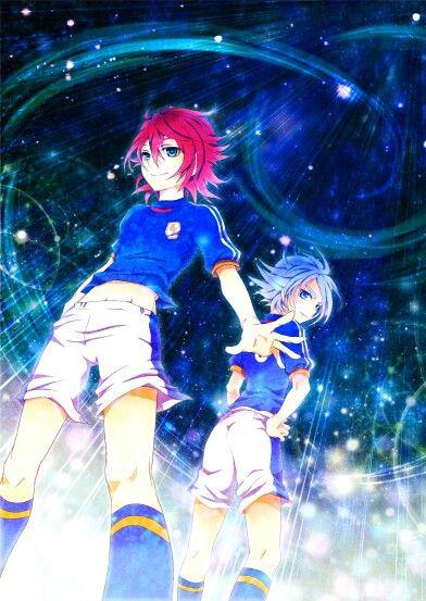Inazuma eleven - Hiroto and Fubuki