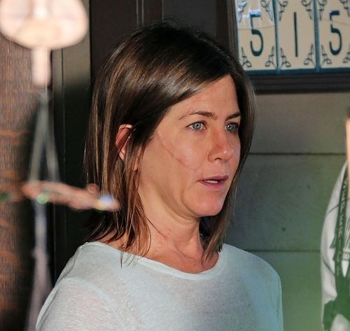 """In an interview Jennifer Aniston, she speaks about going makeup free for her upcoming movie saying, """"...freeing yourself from the hassle of primping...I'm talking deliberately choosing to take that time and energy and using it instead to find a whole different part of yourself.. may be something that would help us see ourselves in a totally different light and in the best way possible."""""""
