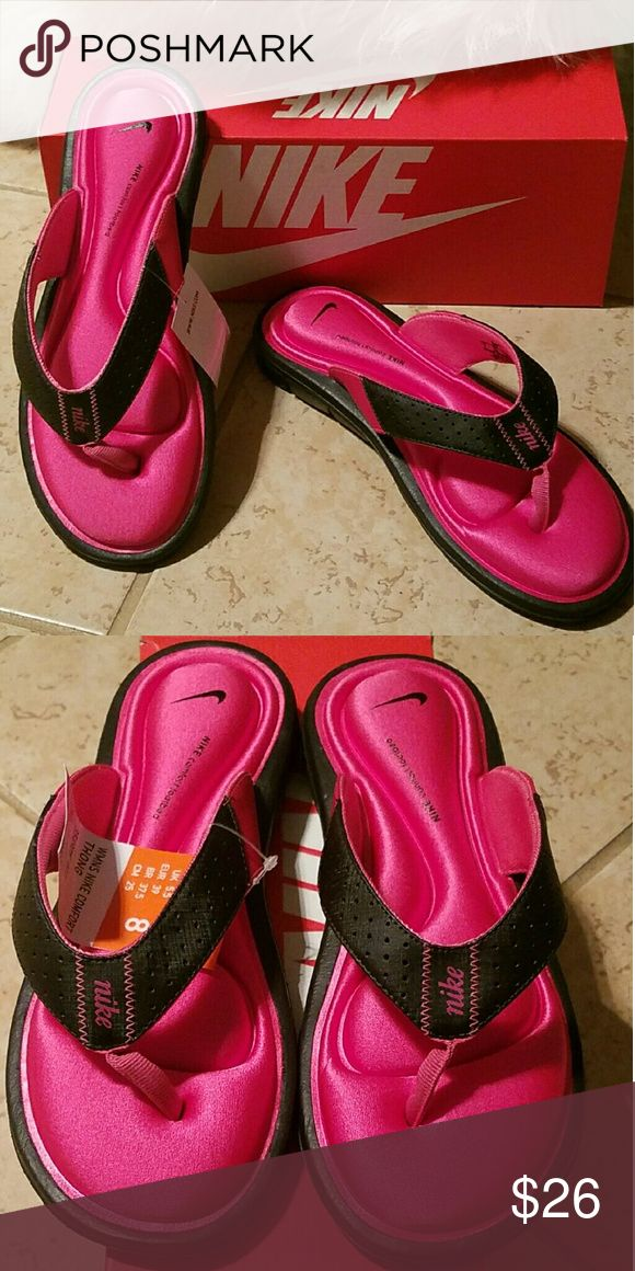 Nike Comfort Flip Flops Hot Pink super cute and comfortable ladies flip Flops Nike Shoes Sandals