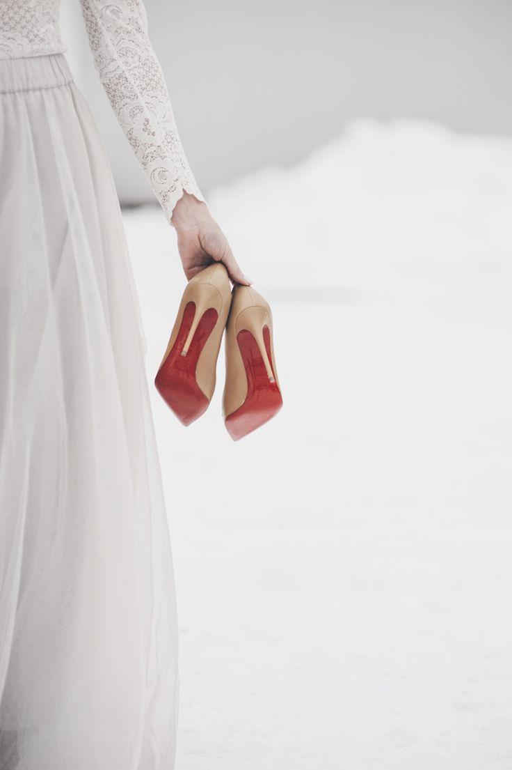 Wedding Christian Louboutin shoes