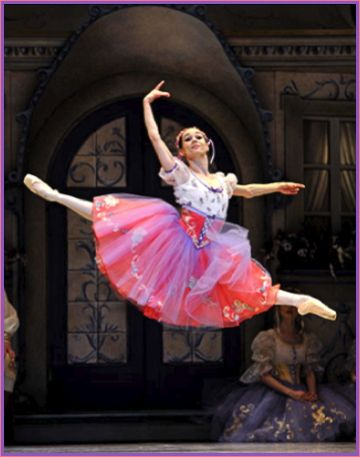 Masha is incredible!! (as Swanhilda in Coppelia)