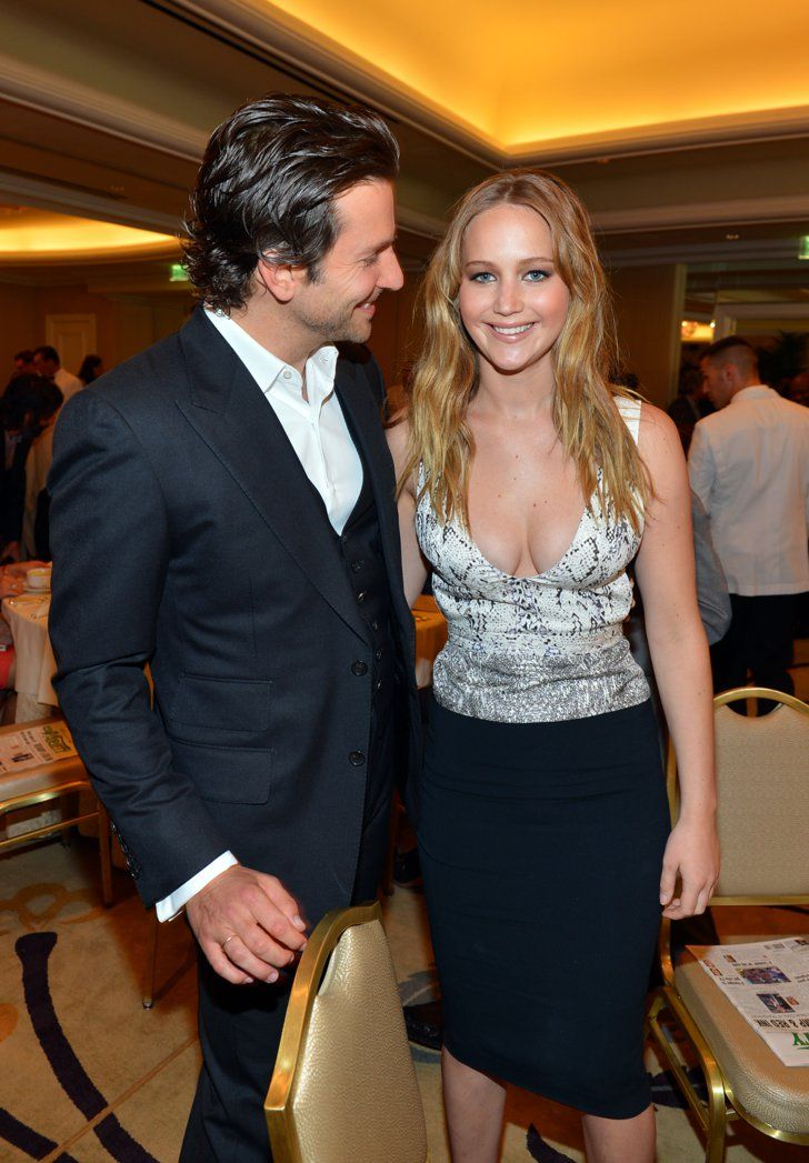 Pin for Later: 24 Reasons Jennifer Lawrence and Bradley Cooper Should Just Get Married Like Jen was the only person in the room that mattered.