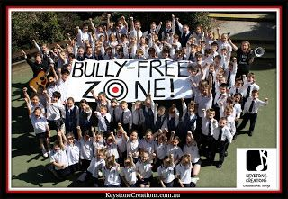 'BULLY-FREE ZONE!' (Grades K-7) is a positive behaviours, curriculum-aligned song that provides a non-threatening, child-friendly approach to dealing with unacceptable behaviours. This whole school song (plus lesson materials) makes a perfect teaching/learning tool for raising awareness around this serious issue. Full blog article: http://keystonecreations.blogspot.com.au/2017/01/bully-free-zone.html #NationalBullyingPreventionMonth #AntiBullying #PositiveBehaviours #School #Songs…