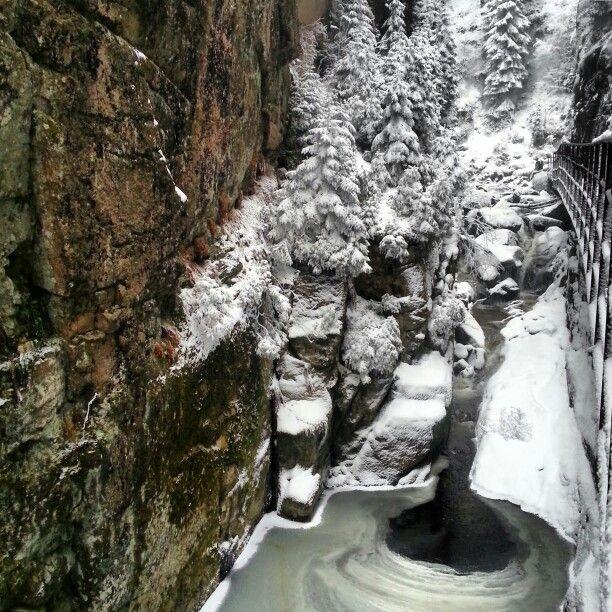Wodospad Kamienczyk.  Waterfall.
