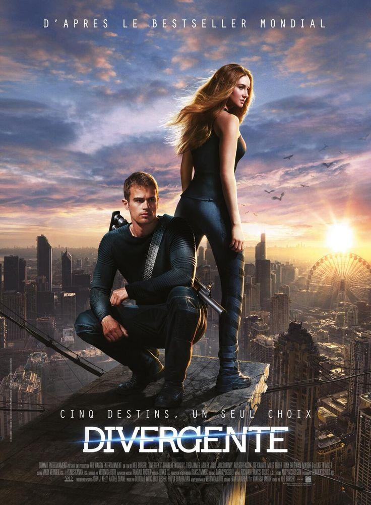 Divergente - La copia de juegos del hambre pero con un enfoque algo distinto y muchísimo mejor. Recomendada 100%