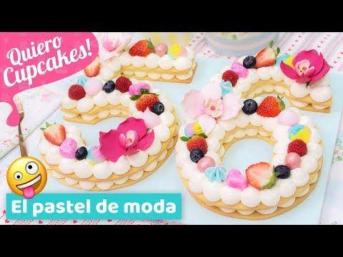 Pastel de números - El pastel de moda de 2018 - Recetas de postres (y panes)