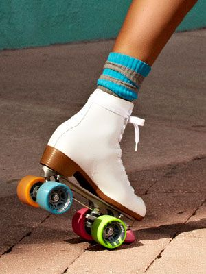 boot roller skates . . . my most prized childhood possession / obsession