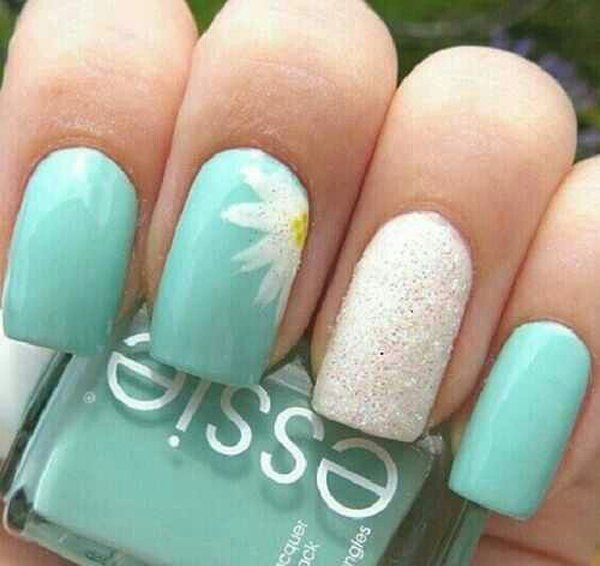 You don't have to overdo your nails by putting the designs on all your nails. The trend now is actually to put the designs on either your ring finger only, or alternate or on two nails. By doing so, you would have diverse designs without looking messy.
