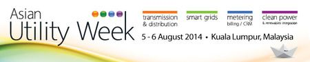Asian Utility Week 2014 on Tuesday August 5, 2014 at 9:00 am to Wednesday August 6, 2014 at 5:00 pm. Asian Utility Week 2014 will incorporate the established Metering, Billing/CRM Asia, Transmission and Distribution/Smart Grids Asia and Clean Power Asia shows, comprising major utility topic areas like. Price: Utilities Conference: $700, Other Companies Conference: $1995, Exhibition: $0, Venue: Renaissance Kuala Lumpur, Corner of Jalan Sultan Ismail and Jalan Ampang, Kuala Lumpur 50450…