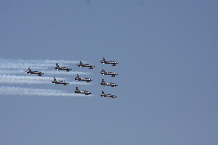 Avioane supersonice in zbor