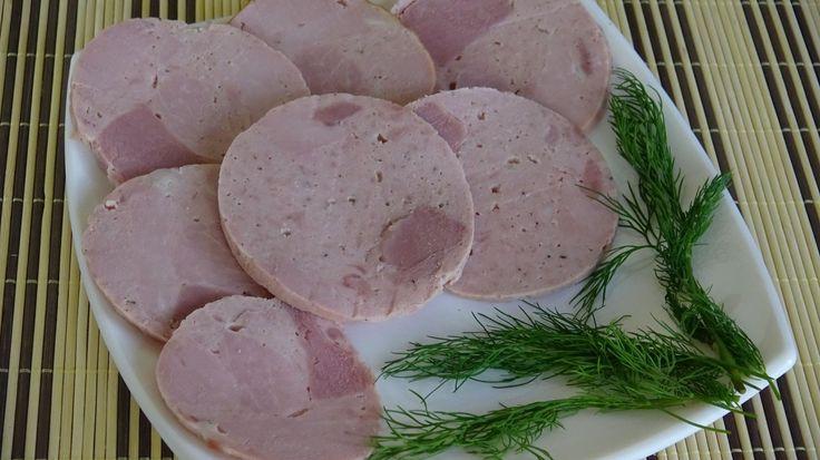 Колбаса ветчинная (ветчина в оболочке) || Как сделать домашнюю ветчину в...