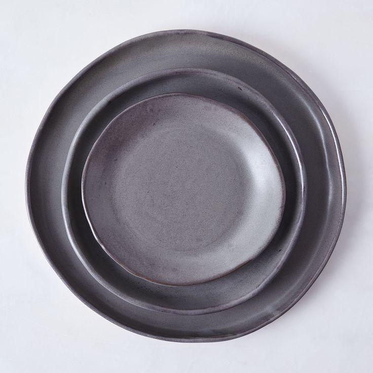 Handmade Charcoal Grey Dinnerware