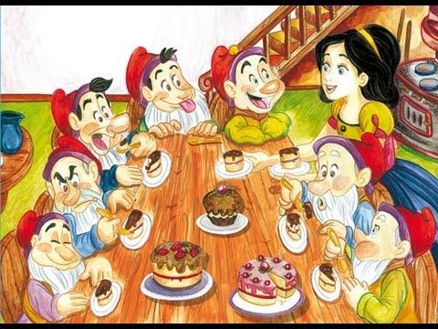 ▶ Blancanieves y los 7 enanitos. Cuentos cortos para niños - YouTube