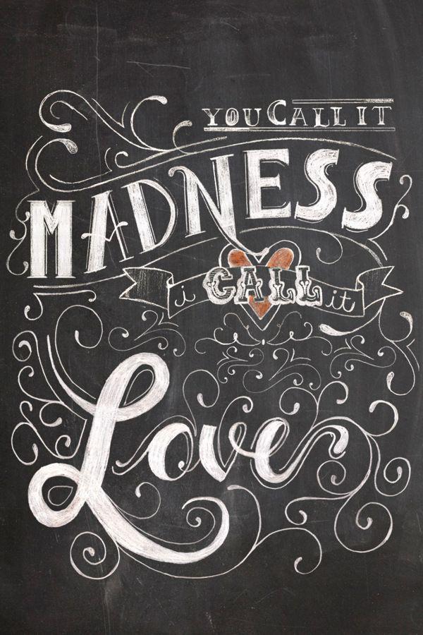 Lovesick - Typography