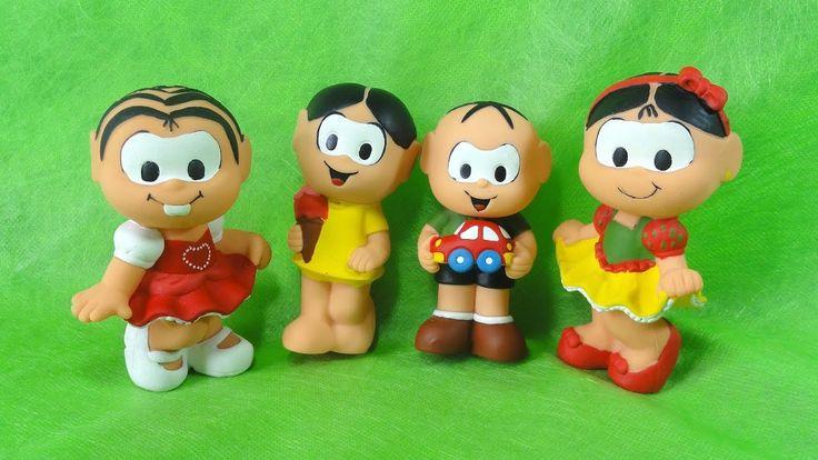 Turma da Monica / Monica / Cebolinha / Magali / Monica Dançarina / Toys ...