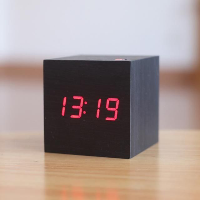 Modern Digital Wood Clock Clock Digital Table Clock Wood Clocks