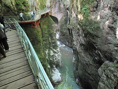 gorges du Fier, Annecy, France I was There in 1990 and 1991. Loved it!