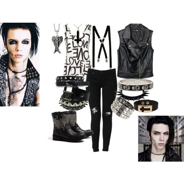 Inspired by Andy Biersack of Black Veil Brides