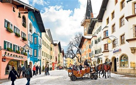 Kitzbuhel - This town is so beautiful it looks good enough to eat! Conveniently located closed to Innsbruck airport this make an excellent destination for a short skiing break.