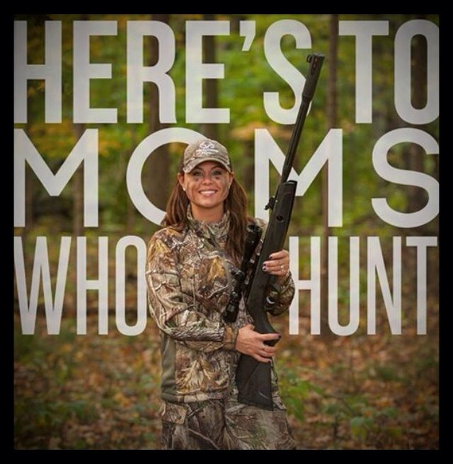 #Gina Brunson #moms who hunt
