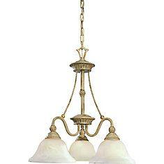 Savannah Collection Seabrook 3-light Chandelier