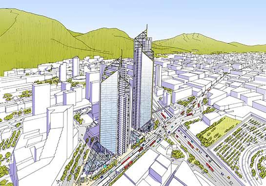 RSHP unveil mixed-use development in Bogota