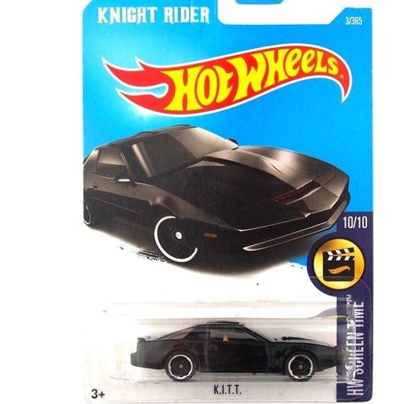 KITT KNIGHT RIDER * 2018 Hot Wheels Metal Diecast Car Culture D Case