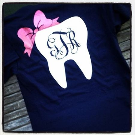 Glam Dental Monogram Tee HP