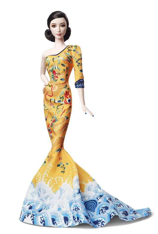 2014 Fan Bingbing Doll | Barbie Collector, Designed by: Linda Kyaw   Release Date: 6/2/2014   Product Code: BCP97, $39,95 Orginal Price