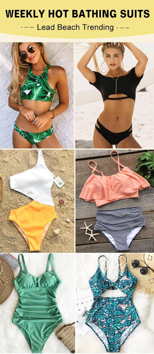 Hit the beach with in style swimsuits from Cupshe. Discover super-cute designs, perfect fits and a whole range of styles to take your beach days to the next level. Enjoy FREE shipping~ Shop Now!