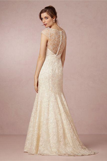 Get A Closer Look At Lauren Conrad's Wedding dress #refinery29  http://www.refinery29.com/2014/09/74678/lauren-conrad-wedding-dress-sketches#slide9