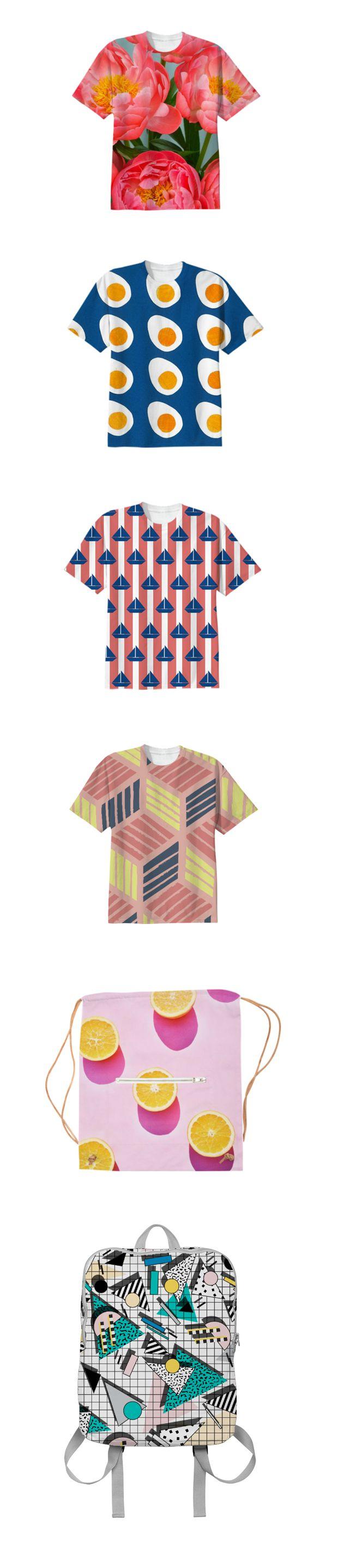 Print All Over Me. Un sitio donde puedes imprimir o vender tus diseños en cualquier prenda. DIY.