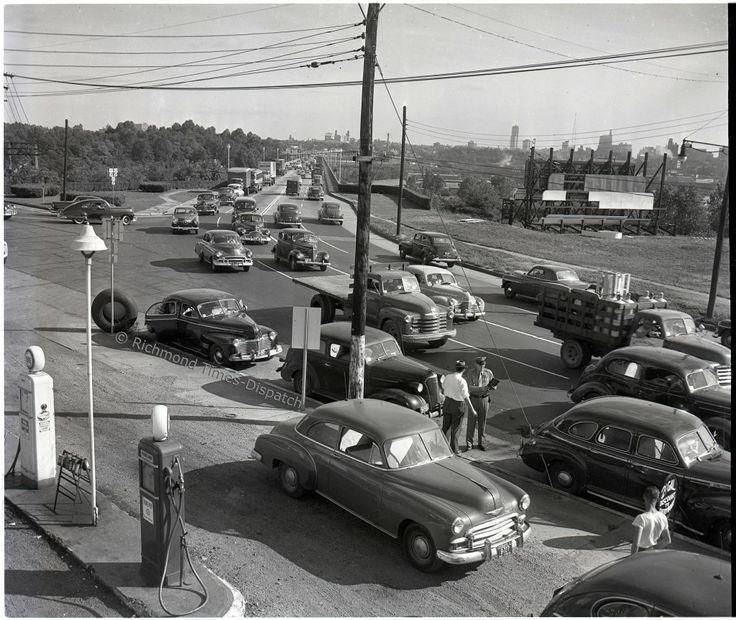 Southside Of Robert E. Lee Bridge Richmond, Va. 19 1950