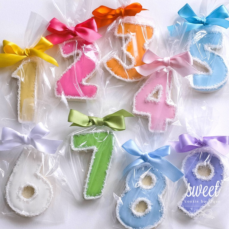 numbers to letters your choice of number cookie favors one dozen sugar 46460