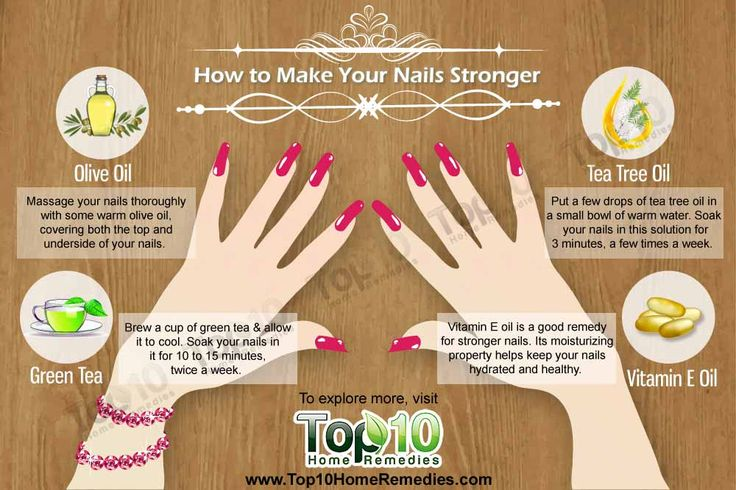 Remedies for weak / brittle nails... NEED TO DO THIS AFTER GEL MANICURES!!!