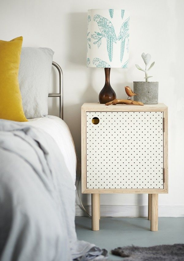 pegboard side tables from Homebase collections NZ