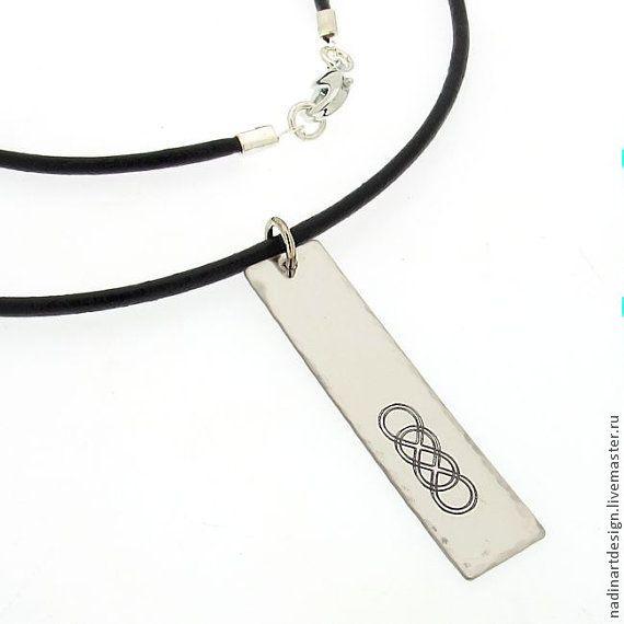"""Модное украшение """"88"""". Ожерелье с гарвировкой на заказ. Подарок - черный"""